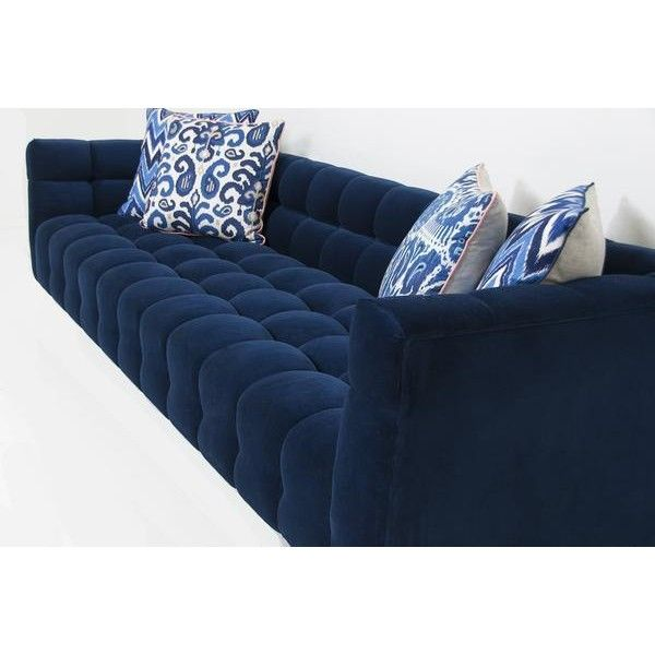 Midnight Blue Sectional Sofa