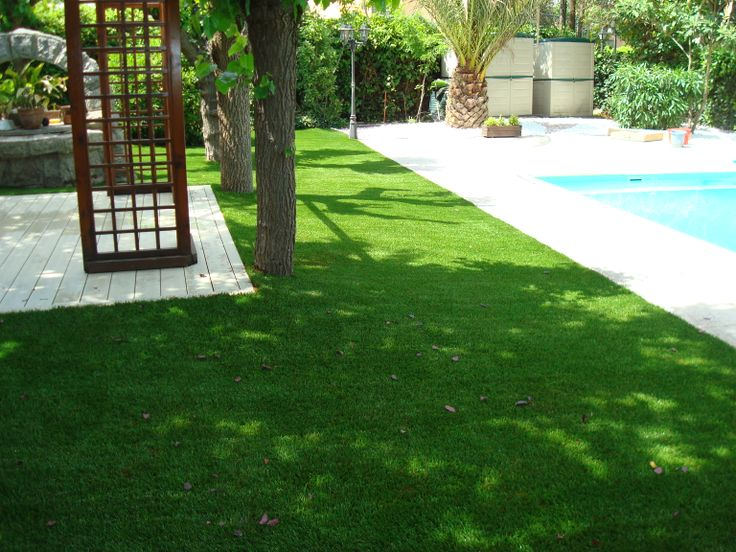 17 best images about c sped artificial jardines on - Jardines cesped artificial ...