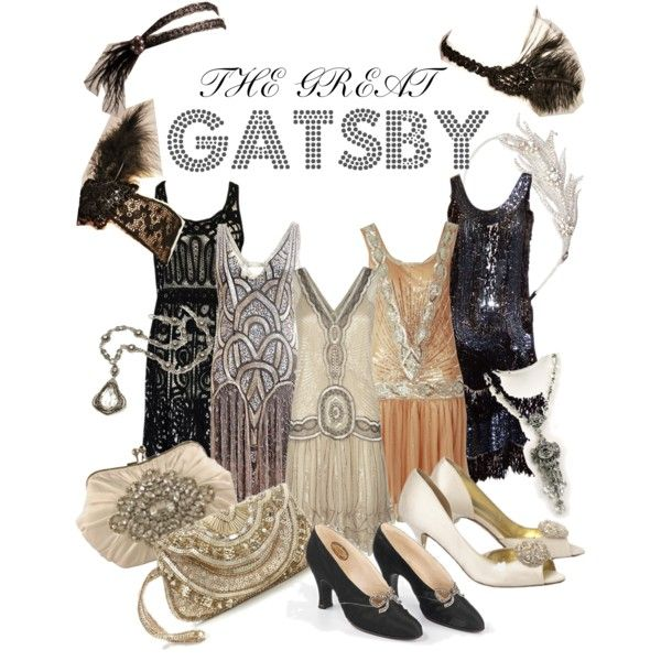 THE GREAT GATSBY: 1920s Womens Style by katherinea98 on Polyvore