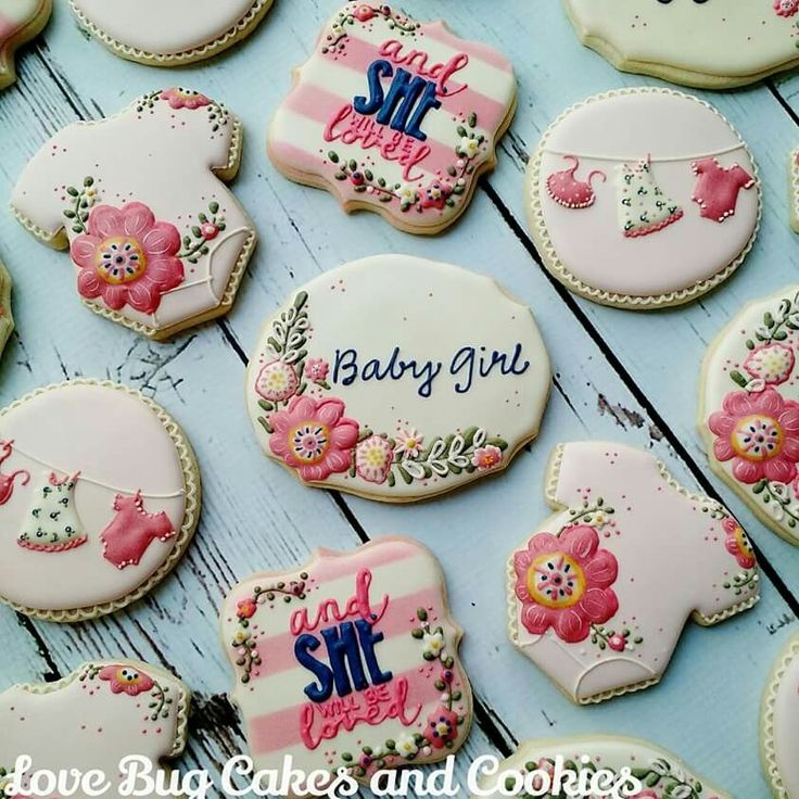 ideas about baby girl cookies on pinterest baby cookies baby shower