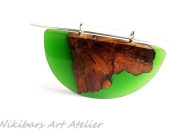 Ähnliche Artikel wie Asymmetree Anhänger, handmade Holz Halskette, exotische Wurzelholz Holz und Harz-Halskette, abstrakt, Kunst-Halskette, moderne Halskette. KOSTENLOSER VERSAND auf Etsy