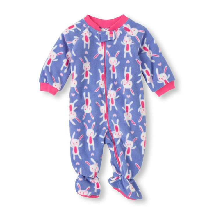 Baby/Toddler Girls Bunny Footed Blanket Sleeper Pajamas New with Tags Size 2T #ChildrensPlace #DressyEverydayHolidayEaster