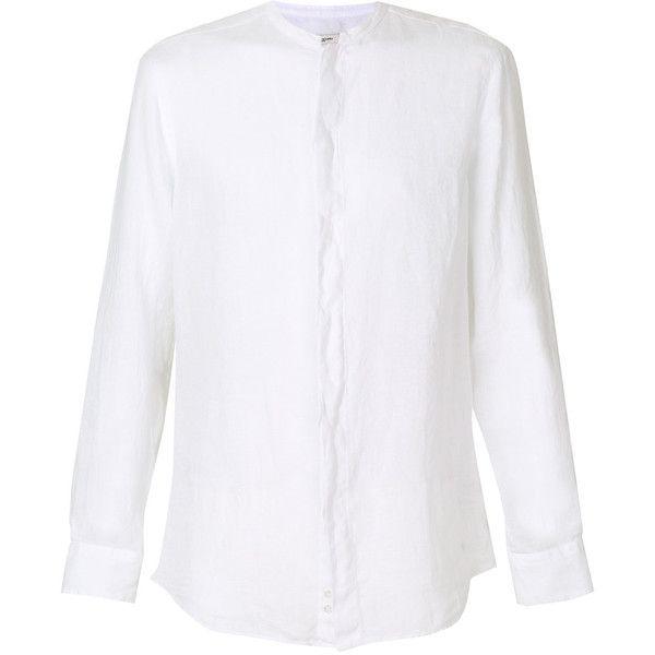 Best 25 mens white linen shirt ideas on pinterest men 39 s for Collarless white shirt slim fit