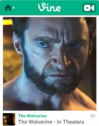 """Big Moment For Vine As First Wolverine Movie Footage Comes Via 6-Second """"Tweaser"""" Instead Of Trailer 