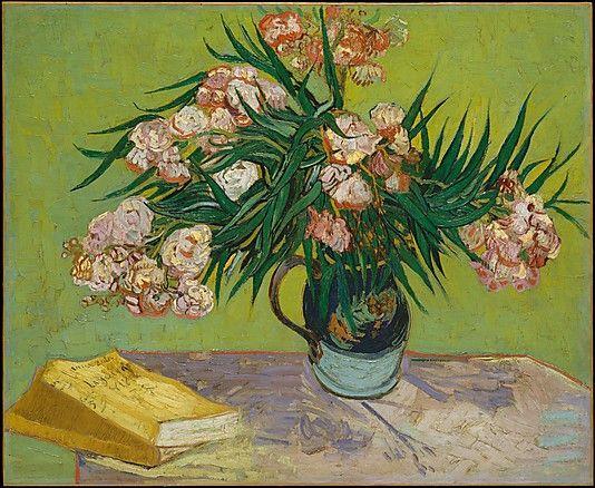 Vincent van Gogh, (Dutch, 1853–1890). Oleanders, 1888. The Metropolitan Museum of Art, New York. Gift of Mr. and Mrs. John L. Loeb, 1962 (62.24) #spring