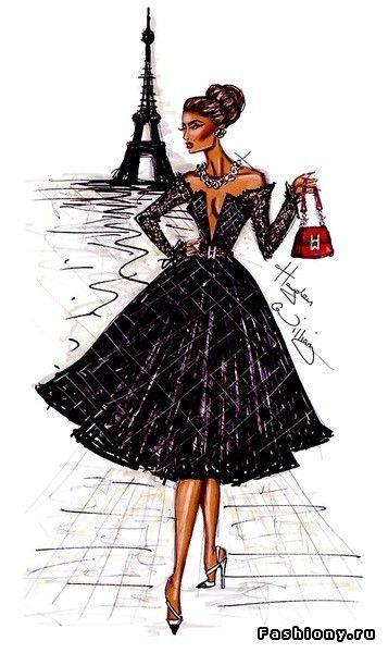 Hayden Williams.Fashion illustrations
