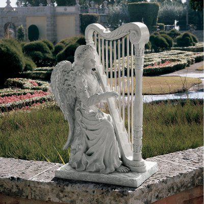 Design Toscano Music from Heaven Angel Garden Statue - NG29970
