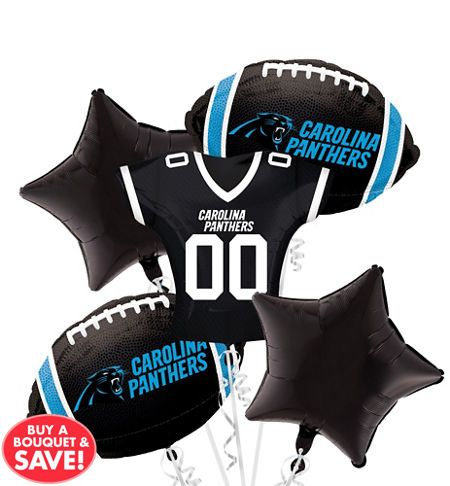 NFL Carolina Panthers Party Supplies, Decorations & Party Favors - Party City