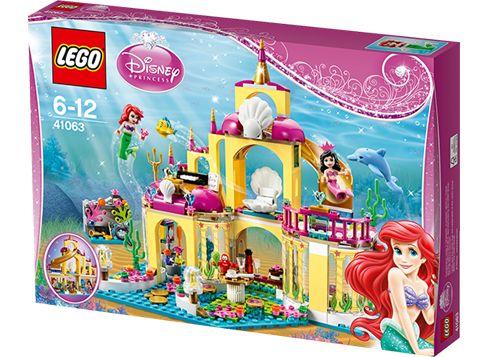 LEGO DISNEY 41063 Ariels sjøpalass