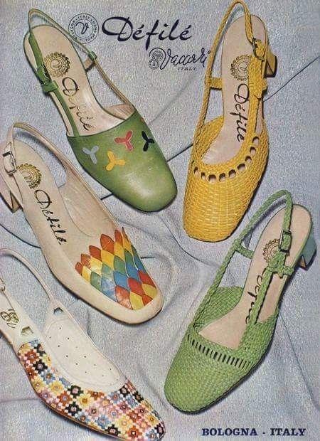 Mejores 2738 im genes de zapatos vintage de los a os 50 60 for Zapatillas paredes anos 70