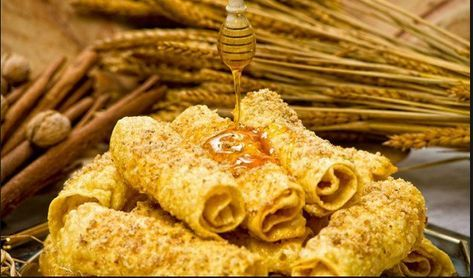 Λαχταριστές Χριστουγεννιάτικες δίπλες με διπλό μέλι και τραγανά καρύδια! Η πιο γλυκιά συνταγή για αυτά τα Χριστούγεννα μόνο για σένα. Γλύκανε τους πάντες!!!