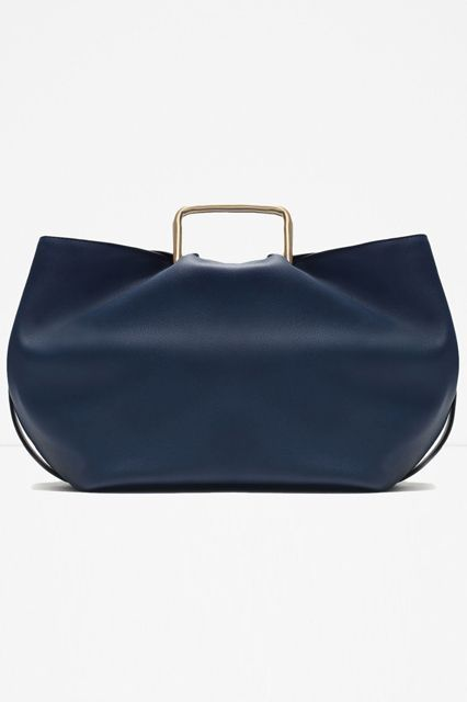 28 Bags For The Hard-Core Commuter #refinery29 http://www.refinery29.com/best-commuter-bags#slide-1 A sleek gold handle gives this daily carryall an evening feel.Zara Tote Bag with Metal Handles, $39.90, available at Zara....