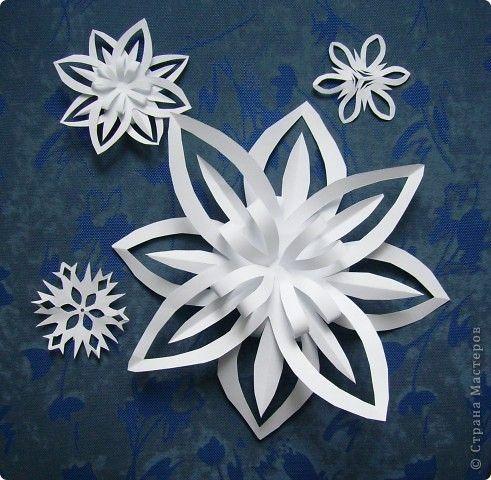 Craft produkt Nový rok Vánoce Cut Snowflake 10 minut Paper fotografie 1