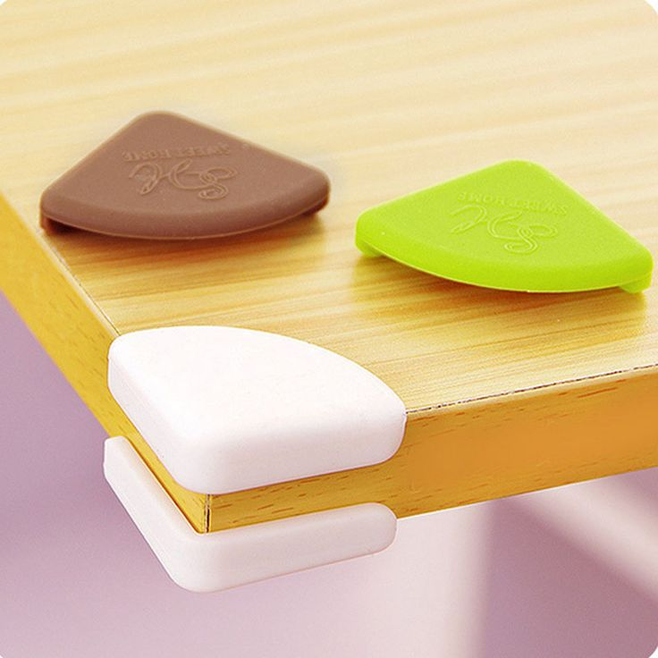 4Pcs/set Baby Silicone Safety Corner Protector Baby Kids Table Desk Corner Guard Children Safety Edge Guards Products