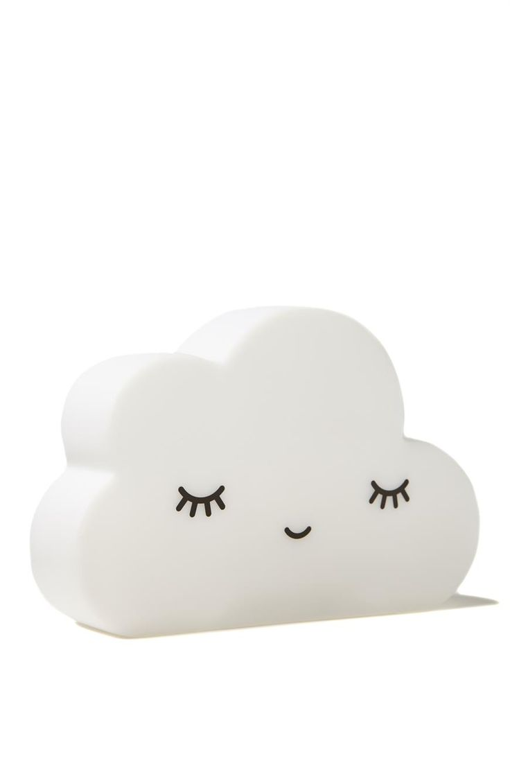 Add a soft glow to your bedroom at night. A Cloud Lamp is perfect for a baby nursery or kids bedroom