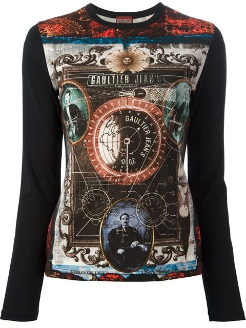 Jean Paul Gaultier Vintage printed t-shirt