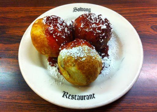 Scandinavian Cuisine Danish Restaurant Solvang In California Is Famous For Their Aebleskivers Pinterest Restaurants