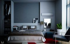 Goodly Bedroom Design Gray