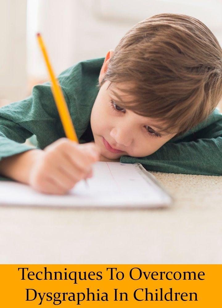 8 Effectual Techniques To Overcome Dysgraphia In Children