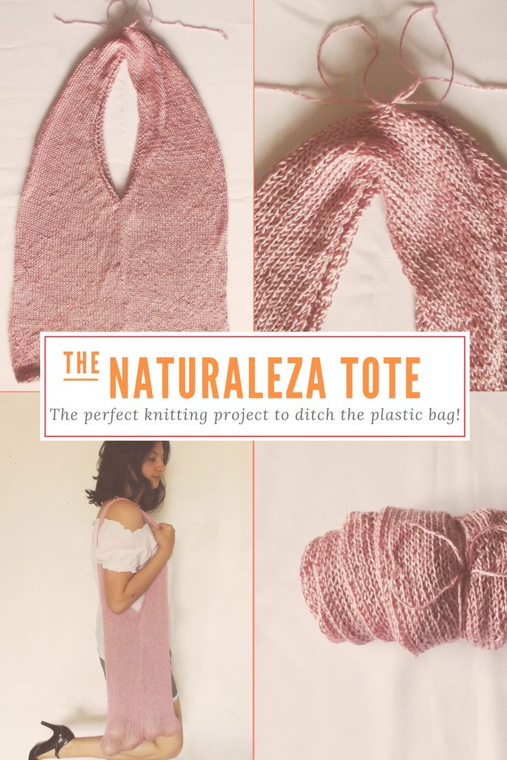 The Naturaleza Tote, the perfect project to ditch the plastic bag!