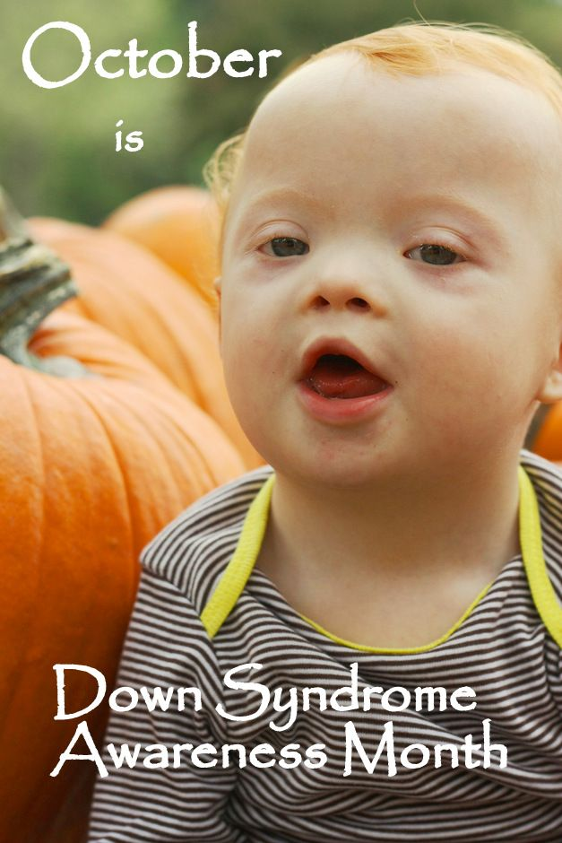 It's Down Syndrome Awareness Month!