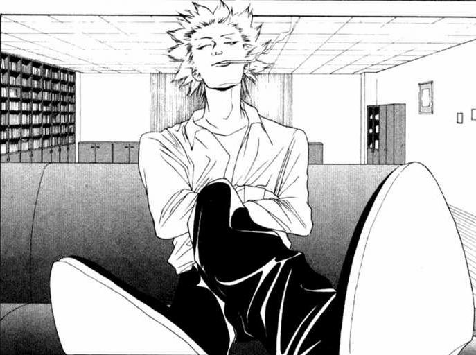 Tokuchi is so friggan smug, lol! <3