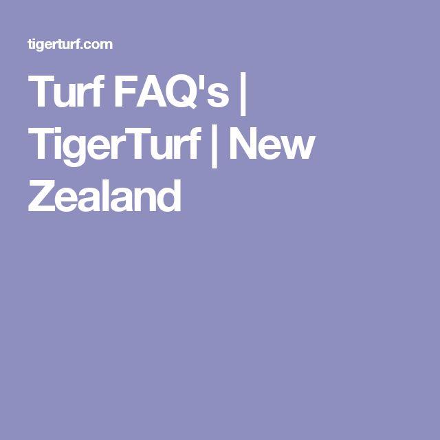 Turf FAQ's | TigerTurf | New Zealand