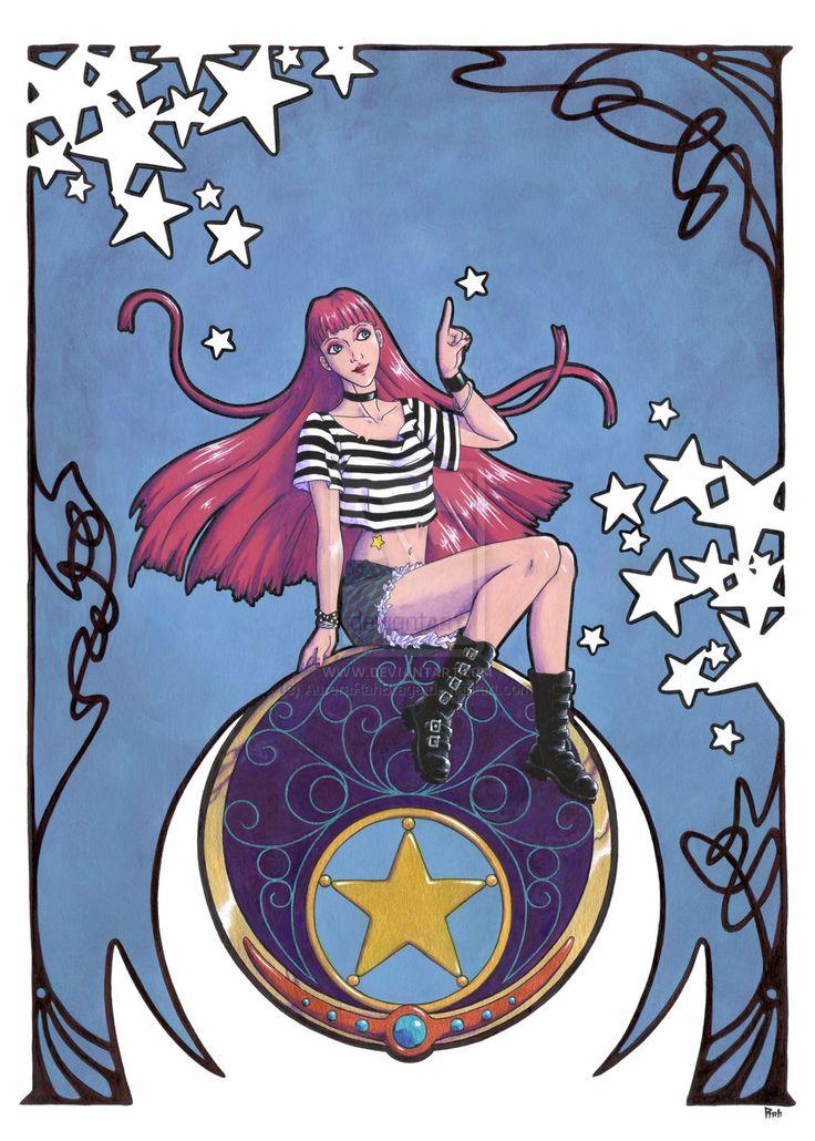 The gold star by AuroraRahBraga.deviantart.com on @deviantART