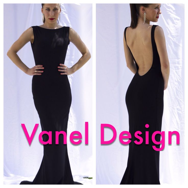 Long black bridesmaid dress, cocktail dress, formal dress, elegant dress, prom dress, mermaid dress, peekaboo back, sexy dress, classy dress by VanelDesign on Etsy https://www.etsy.com/listing/208195131/long-black-bridesmaid-dress-cocktail
