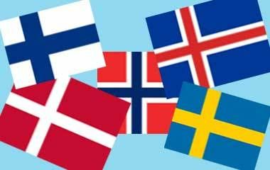 Spela Länderna i Norden