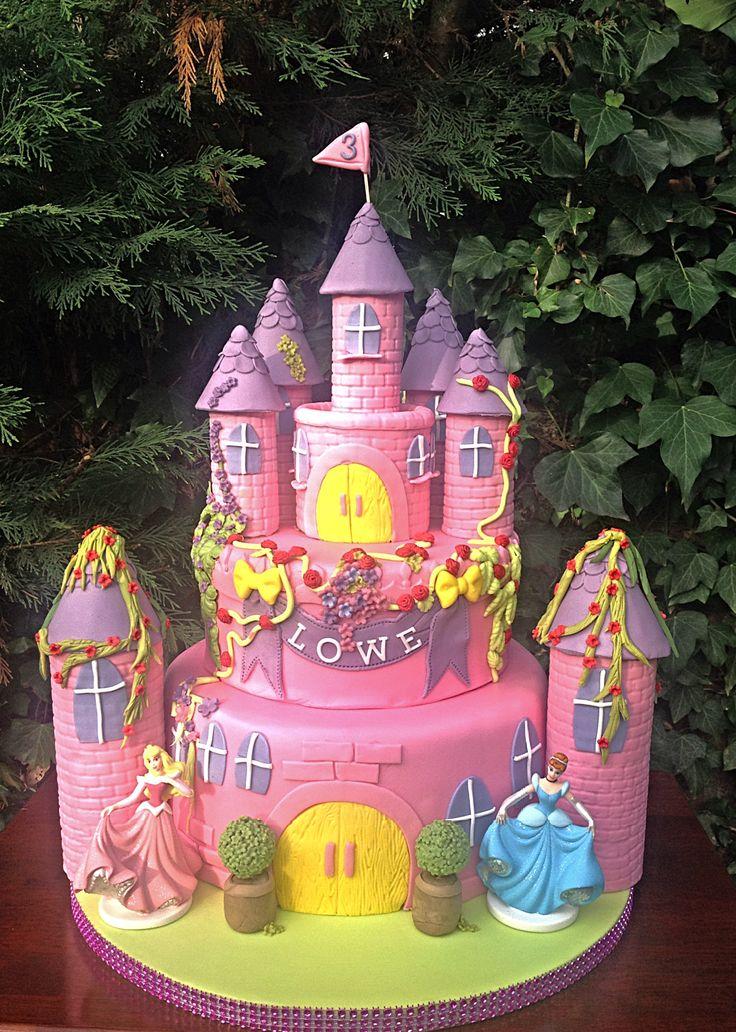 Prinsessen kasteel taart