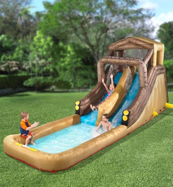 17 Best Images About Backyard Water Park On Pinterest