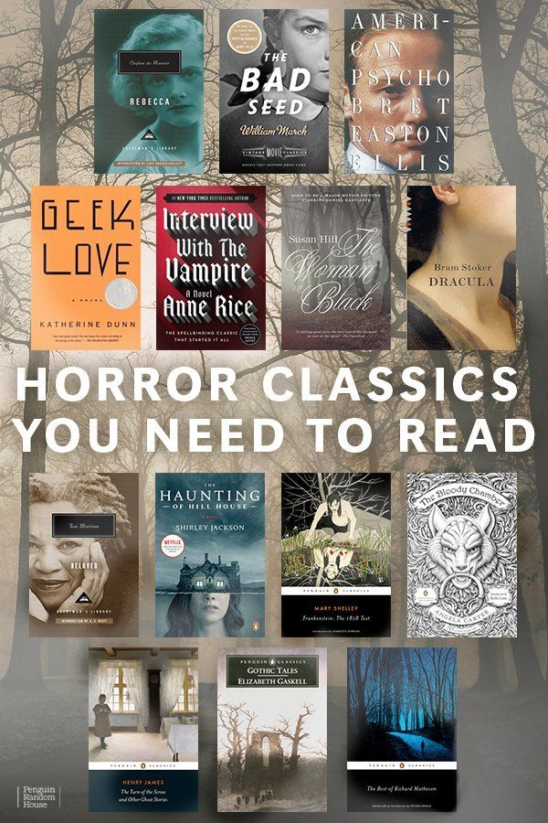 Halloween 2020 Reads Horror Classics You Need to Read in 2020 | Halloween books, Horror