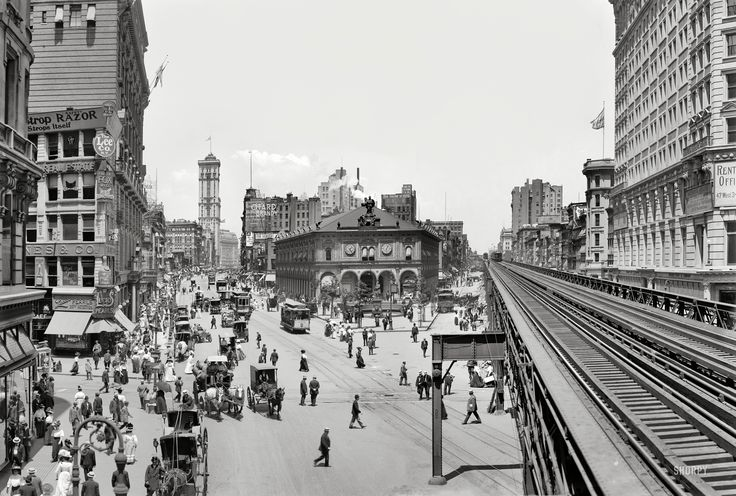 HErald Square, NYC, ca. 1908
