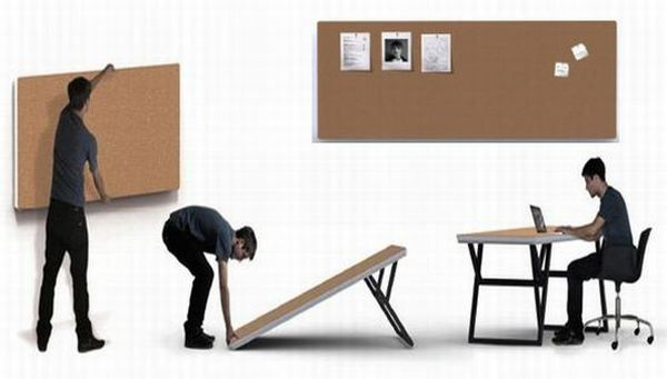 Folding furniture designs for small urban spaces | Designbuzz : Design ideas and concepts