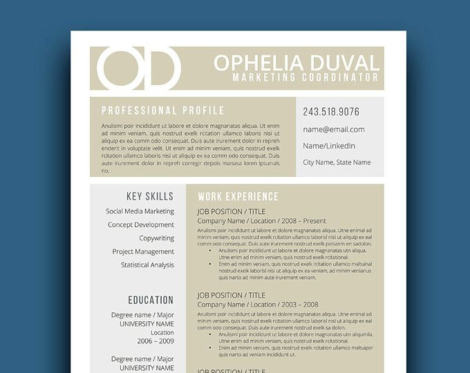 94 best Professional Resumes from Resume Foundry images on - resume template word