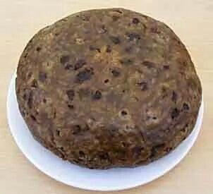 Clouty dumpling a suet pudding from Scotland