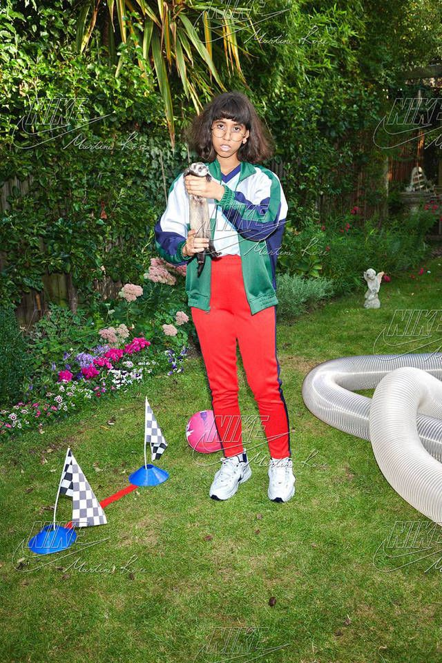71f545c1ec69 Martine Rose Nike Collaboration Craigslist Pink White Air Monarch Track  Pants Jacket T-shirt