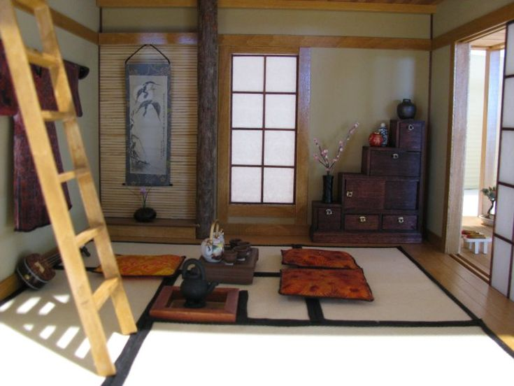Miniature Japanese house interior - inspiration