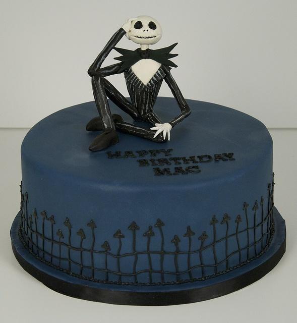 jack skellington cake toronto by www.fortheloveofcake.ca, via Flickr