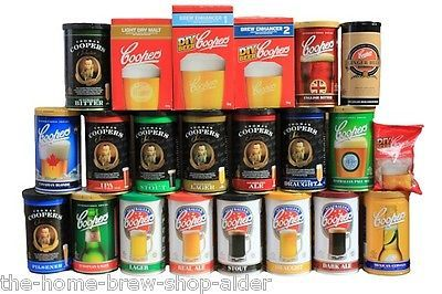 Coopers beer kits - home #brewing - beer making - #choice of #styles - full range,  View more on the LINK: http://www.zeppy.io/product/gb/2/181657613008/