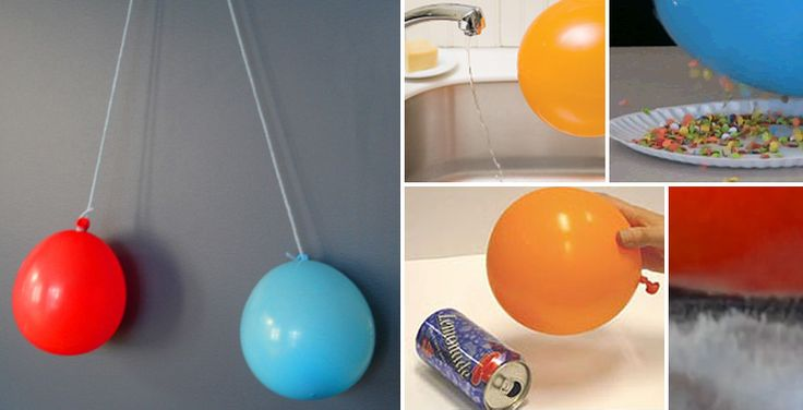 1. Repel / Attract  Have kids experiment with having two balloons attract and repel. Visit  Learning Ideas K-8  for instructions!    2...