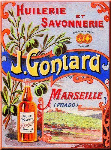 PLAQUE METAL 20X15cm PUB RETRO HUILE OLIVE MARSEILLE France: Amazon.fr: Cuisine & Maison