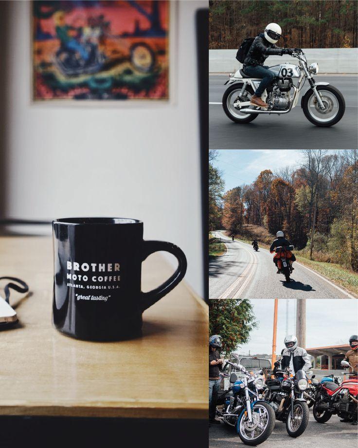 Motorcycle Photography Black Coffee Mug Motorcycle Branding Motorcycle Riders