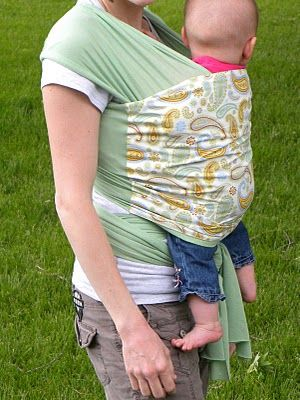 12 DIY Things To Make For Your Unborn - Make you own baby wrap