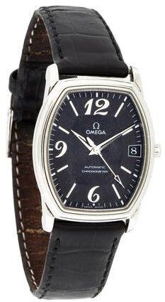 Omega Automatic Prestige DeVille Tonneau Watch