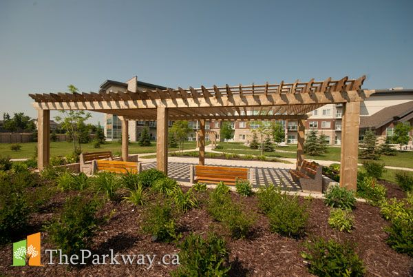 Private park and entertaining garden