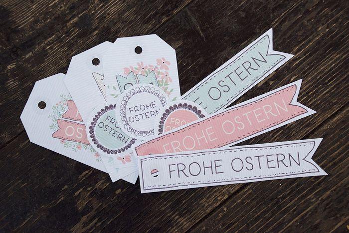 Hier findest du eine kostenlose Vorlage mit Geschenkanhänger für Ostern. Einfach herunterladen, ausdrucken, ausschneiden und fertig. Schau vorbei!