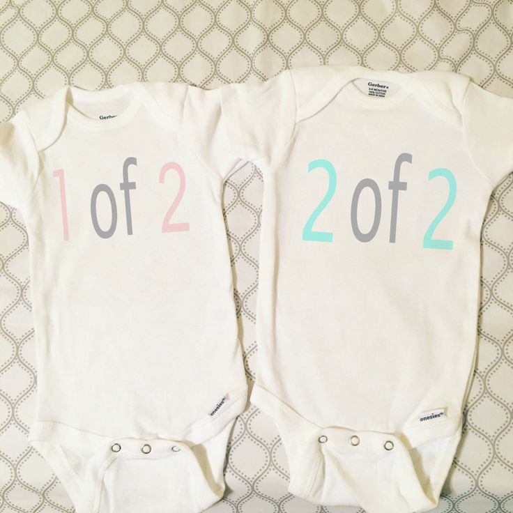 Twin Onesie Set, Twin Bodysuit Set, Outfit For Twins by HannasHandmadeHobby on Etsy https://www.etsy.com/listing/270156842/twin-onesie-set-twin-bodysuit-set-outfit