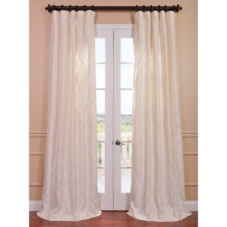 The 25 best Faux silk curtains ideas on Pinterest Bathing